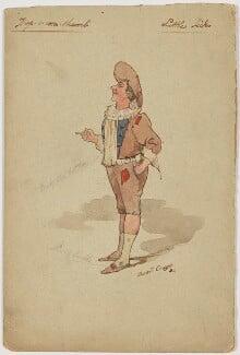 Harry Relph as Little Tich, by (Harry) Basil Crage - NPG D6577