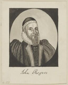 John Rogers, by George Perfect Harding - NPG D6584