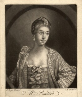 Anne Bastard (née Worsley), by Richard Purcell (H. Fowler, Charles or Philip Corbutt), after  Sir Joshua Reynolds - NPG D659