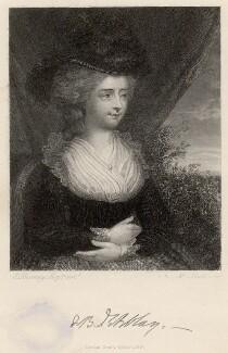Fanny Burney, by S. Bull, after  Edward Francisco Burney, published 1854 - NPG D6604 - © National Portrait Gallery, London