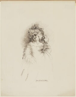Juliana Elizabeth Schwellenberg, by Maria Ward, after  James Gillray - NPG D6616