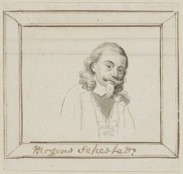 Mogens Sehested, possibly by George Perfect Harding - NPG D6621