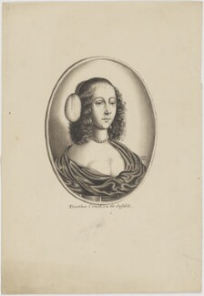 Susanna Howard (née Rich), Countess of Suffolk, by George Perfect Harding - NPG D6642
