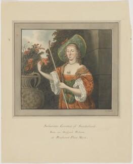 Dorothy (Sydney), Countess of Sunderland as Sacharissa, by Thomas Athow - NPG D6643