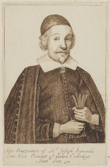 Joseph Symonds, by Unknown artist - NPG D6644