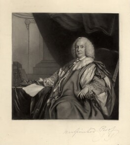William Pulteney, 1st Earl of Bath, by James Scott, after  Sir Joshua Reynolds - NPG D666