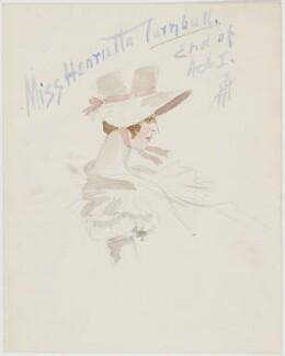 Henrietta Turnbull, by H.P. - NPG D6661