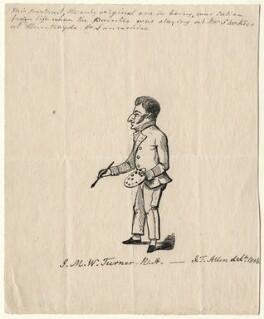 Joseph Mallord William Turner, after J.T. Allen - NPG D6663