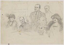 Sir Charles Cheers Wakefield, by Fred Roe - NPG D6668