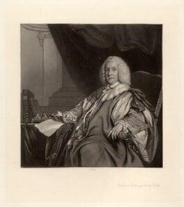 William Pulteney, 1st Earl of Bath, by James Scott, after  Sir Joshua Reynolds, (circa 1755-1757) - NPG D667 - © National Portrait Gallery, London