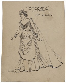 Miss Wallis as Poppaea, by Forrest - NPG D6672