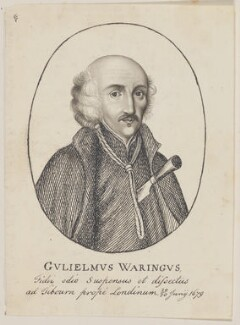 William Barrow (William Waring)(William Harcourt), possibly by George Perfect Harding - NPG D6675