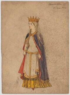 Matilda of Flanders, by H.B., 19th century - NPG D6692 - © National Portrait Gallery, London