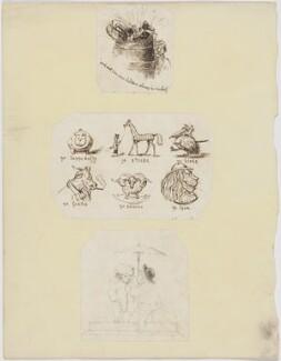 Sketches, by Unknown artist - NPG D6709