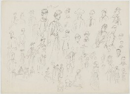 Sketches, by Sir George Scharf - NPG D6719