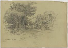 Sketch of Stanmore, by Sir George Scharf - NPG D6725