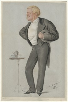 Henry Chaplin, 1st Viscount Chaplin, by Carlo Pellegrini - NPG D6729
