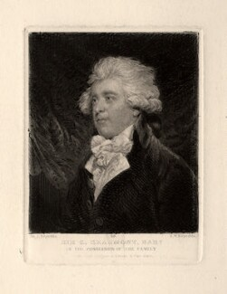 Sir George Howland Beaumont, 7th Bt, by Samuel William Reynolds, after  Sir Joshua Reynolds - NPG D673