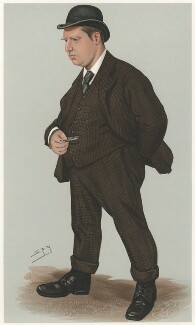 Sir (George) Rowland Hill, by Sir Leslie Ward - NPG D6746