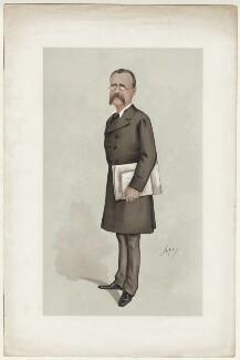 Sir Charles Warren, by Carlo Pellegrini - NPG D6750