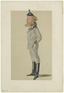 Robert James Loyd-Lindsay, Baron Wantage, by Sir Leslie Ward, published 1876 - NPG D6763 - © National Portrait Gallery, London