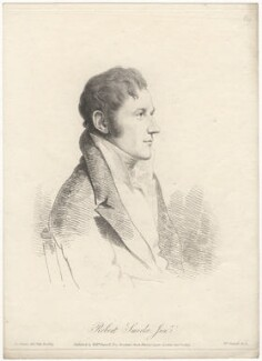 Sir Robert Smirke, by and published by William Daniell, after  George Dance - NPG D6772