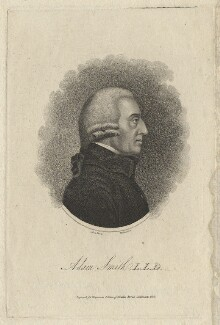 Adam Smith, by Mackenzie, after  James Tassie - NPG D6775