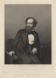 Albert Richard Smith, by Daniel John Pound, after a photograph by  John Jabez Edwin Mayall - NPG D6776