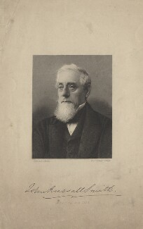 John Russell Smith, by William John Alais, after a photograph by  J. Louis - NPG D6785