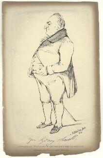 Sydney Smith, by Daniel Maclise, published by  James Fraser, 1838 - NPG D6786 - © National Portrait Gallery, London