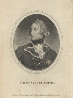 Sir William Sidney Smith, published by Allen & West - NPG D6790