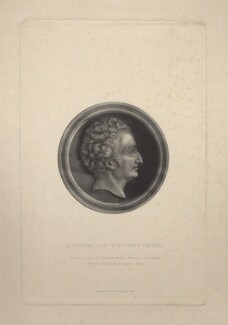 Sir William Sidney Smith, by G. and C. Cook, published by  Richard Bentley, after a medallion by  Pierre-Jean David D'Angers - NPG D6795