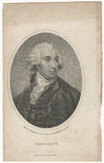 Tobias George Smollett, by William Ridley, published by  Charles Cooke - NPG D6800