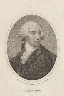Tobias George Smollett, by William Ridley - NPG D6801