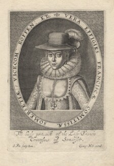 Frances, Countess of Somerset, by Simon de Passe - NPG D6807