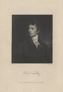Robert Southey, by William Henry Egleton, after  John Opie, published 1849 - NPG D6814 - © National Portrait Gallery, London
