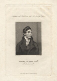 Robert Southey, by Henry Meyer, after  John Jackson, published 1814 - NPG D6816 - © National Portrait Gallery, London