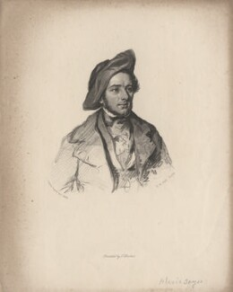 Alexis Benoît Soyer, by Henry Bryan Hall, after  (Elizabeth) Emma Soyer (née Jones), published 1858 (1843) - NPG D6822 - © National Portrait Gallery, London