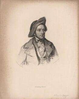 Alexis Benoît Soyer, by Henry Bryan Hall, after  (Elizabeth) Emma Soyer (née Jones) - NPG D6822