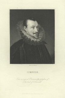 Edmund Spenser, by James Thomson (Thompson), after  Unknown artist - NPG D6827