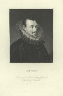 Edmund Spenser, by James Thomson (Thompson), after  Unknown artist - NPG D6827