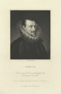 Edmund Spenser, by James Thomson (Thompson), after  Unknown artist - NPG D6828