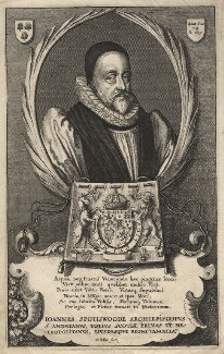 John Spottiswoode, by Wenceslaus Hollar - NPG D6829