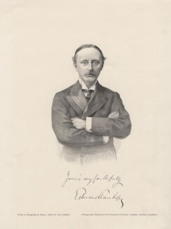 Hon. Edward Stanhope, after a photograph by Elliott & Fry - NPG D6835