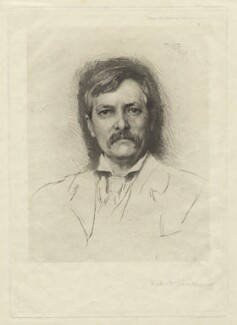 Sir Henry Morton Stanley, by and published by Sir Hubert von Herkomer - NPG D6838