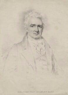 John Thomas Stanley, 1st Baron Stanley of Alderley when Sir John Thomas Stanley, Bt, by Isaac Wane Slater, after  Joseph Slater - NPG D6839