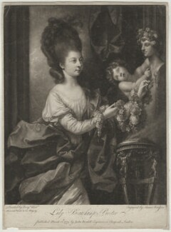 Mary (née Palmer), Lady Beauchamp-Procter, by James Watson, after  Benjamin West - NPG D684