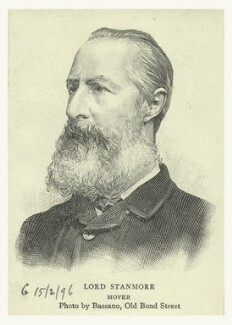 Arthur Charles Hamilton-Gordon, 1st Baron Stanmore, published by Illustrated London News, after a photograph by  Alexander Bassano - NPG D6840