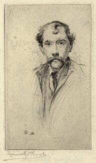 Called Robert Louis Stevenson, by R.E.J. Bush - NPG D6867