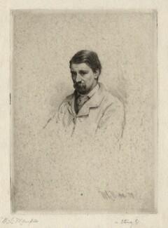 Called Robert Louis Stevenson, by Mortimer Luddington Menpes - NPG D6868